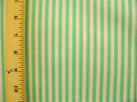 green and white upholstery fabric waverly timeless ticking pear 100 cotton green white