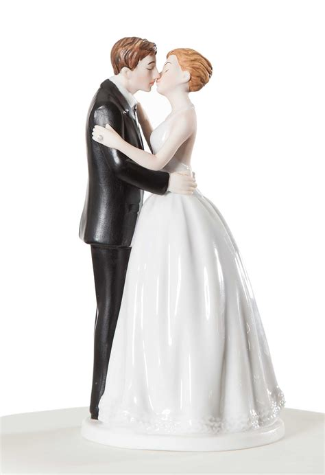 Wedding Figurines by Vintage Style Wedding Cake Toppers