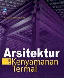 Buku Terlaris Komposisi Arsitektur 1 arsitektur dan kenyamanan termal