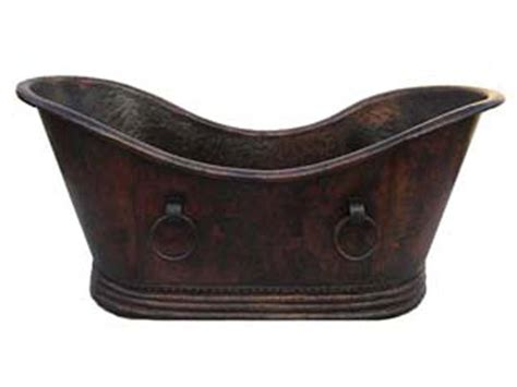 mexican copper bathtubs copper bathtub classic tub with handles 67x32x32 rts