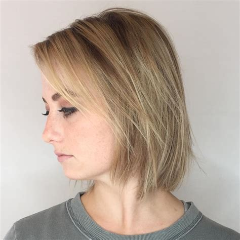 chin length hairstyles for fine hair chin length bob fine hair www pixshark com images