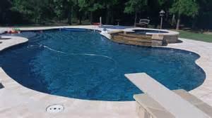 pool plaster colors edge prism matrix indigo blue traditional pool