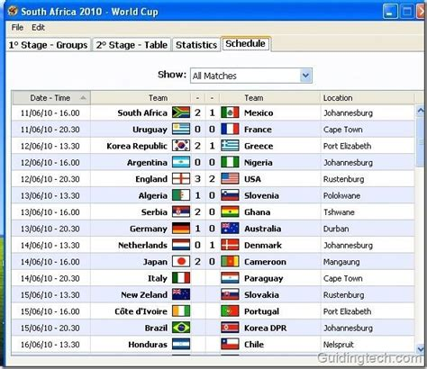 fifa result south africa 2010 stay updated with fifa world cup 2010