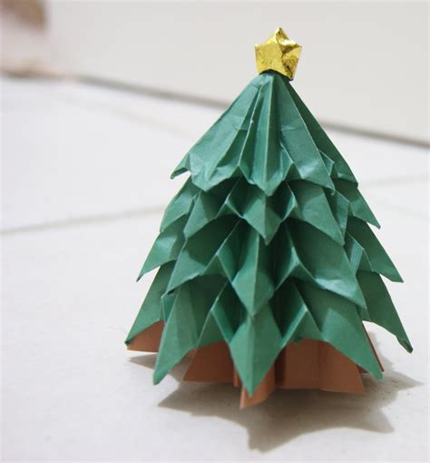 Origami Paper Tree - chasing wool just another weblog