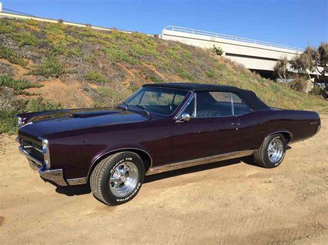 Pontiac 1967 Gto by 1967 Pontiac Gto For Sale Classiccars Cc 783559