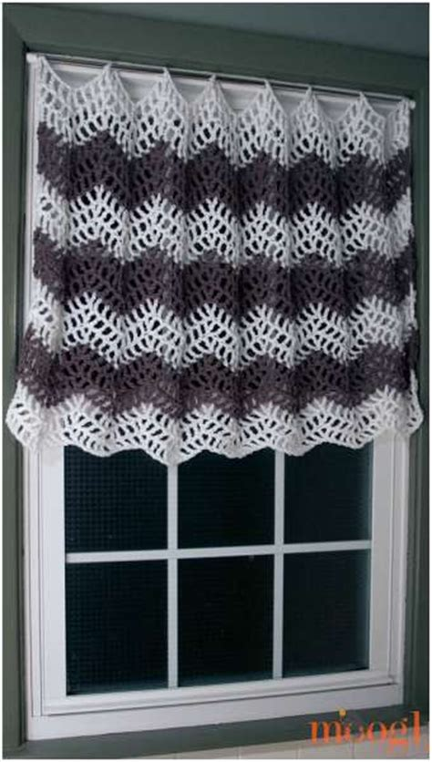 free kitchen curtain patterns 1000 ideas about crochet curtain pattern on