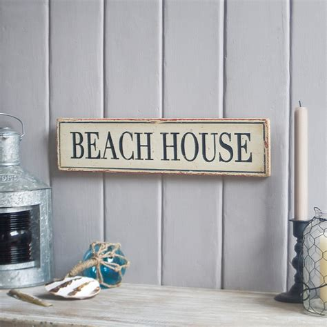 Handmade House Signs - custom house sign vintage effect nautical sign