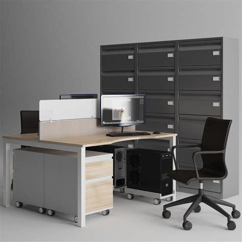 office furniture 3d model max obj fbx mtl cgtrader