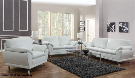 white leather living room set robyn white leather sofa and loveseat set steal a sofa