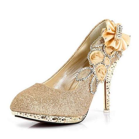 cheap sparkly high heels sparkly gold high heels prom shoes 20 dollars