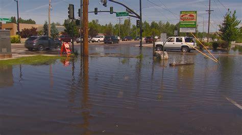 higher flows flood garden city parking lots ktvb