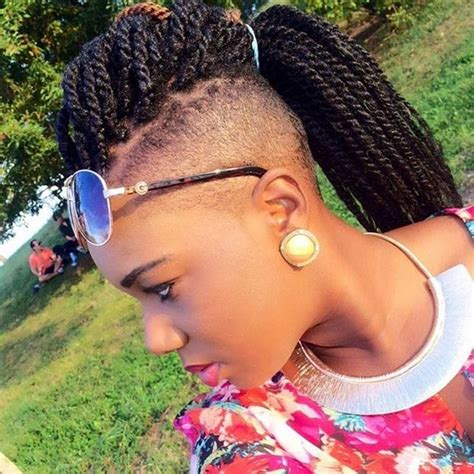 mohawk braid with senegalese twist 51 kinky twist braids hairstyles with pictures