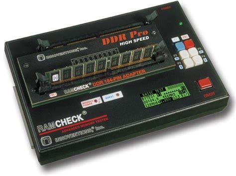 memory ram tester ramcheck plus pro high speed memory tester