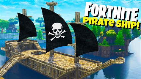 how to build a boat in fortnite epic fortnite pirate ship new fortnite playground mode