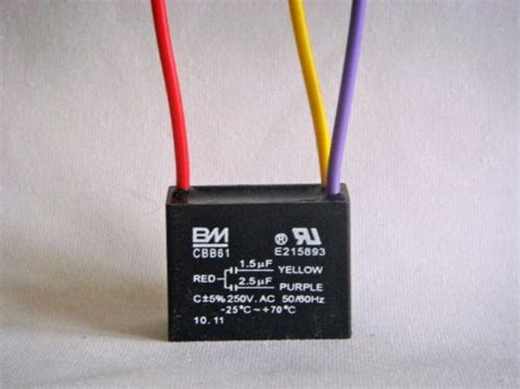 capacitor of a ceiling fan bm ceiling fan capacitor 3 wire 1 5uf 2 5uf ceiling fans with lights light fixture