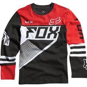 sale on fox racing racer knit youth boys sleeve