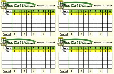 golf scorecard template free best golf scorecard template pictures inspiration