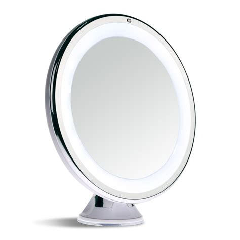 Sanheshun 7x Magnifying Lighted Travel Makeup Mirror Touch