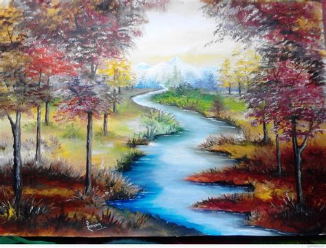 Nature Paintings by Beautiful Nature Paintings Nature