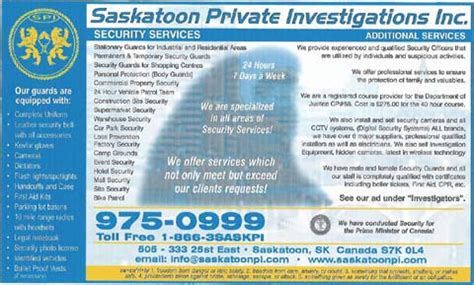 official home page of spi security saskatoon