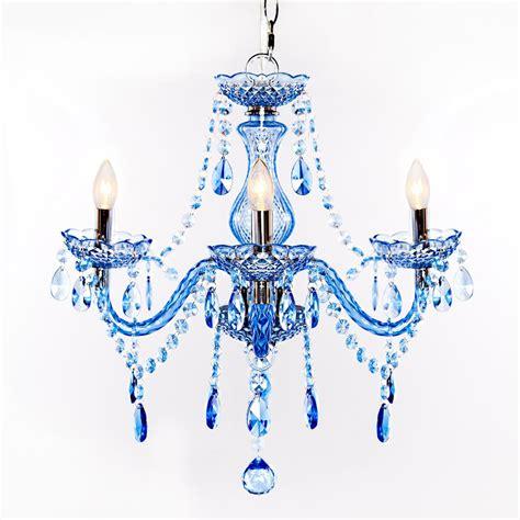 blue chandelier light river of goods 3 light blue chandelier 13717 the home depot