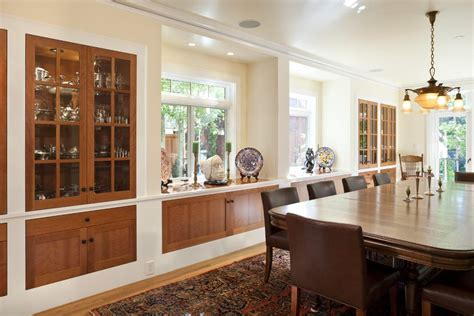 built in cabinets in dining room built in buffet cabinet ideas dining room traditional with