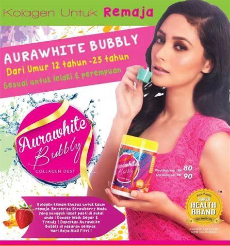 Pasaran Aurawhite Collagen aurawhite bubbly untuk remaja seawal 12 tahun kak sha