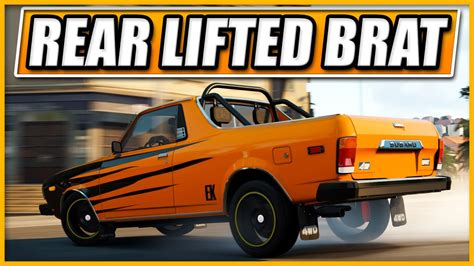 subaru brat lifted forza horizon 2 rear lifted subaru brat nfs no limits