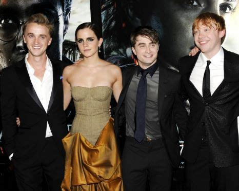 emma watson et tom felton film harry potter star tom felton i already knew emma watson