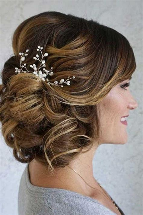 wedding hairstyles mother for curly hair elegant mother of the bride hairstyles southern living