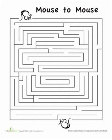 printable mazes first grade rat maze maze free printables and travel