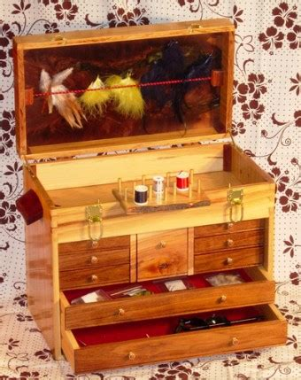 fly fishing tackle box woodworking blog