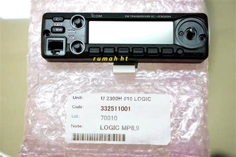 Radio Rig Icom Ic 2300h Original sparepart 187 187 jual alat radio komunikasi ht handy talky