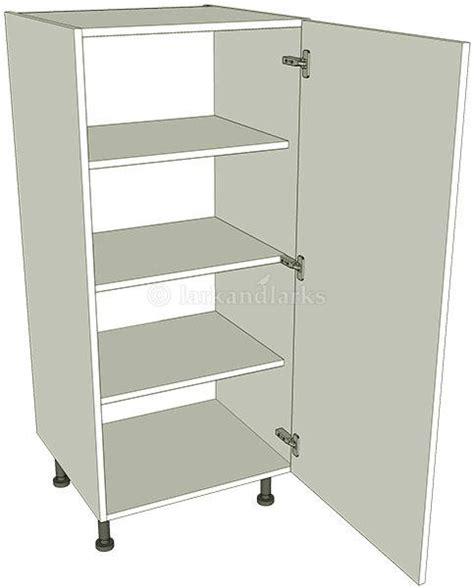 kitchen storage units tallboy storage unit 1250mm high lark larks