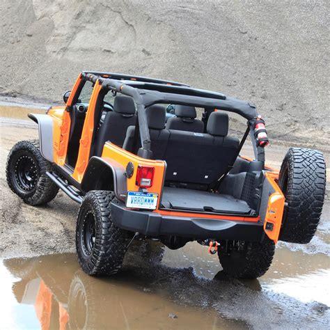 Bedrug Jeep Bedrug Btjk11f2 Bedtred Front Cargo Liner Kit
