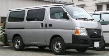 Nissan Cervan File Nissan Caravan Jpg Wikimedia Commons