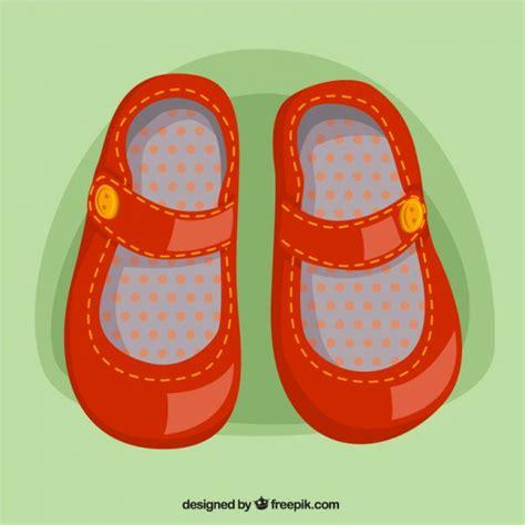 imagenes animadas de zapatos zapatos de ni 241 a en color rojo descargar vectores gratis