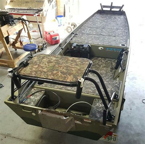 hunting boat flooring custom boat with camo grip flooring pinteres