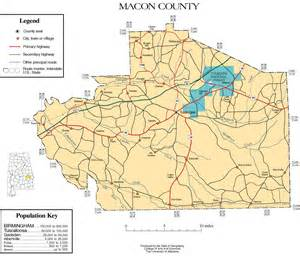 map macon maps of macon county