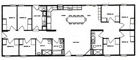 bunkhouse floor plans this bunkhouse floor plan is a better fit than most family