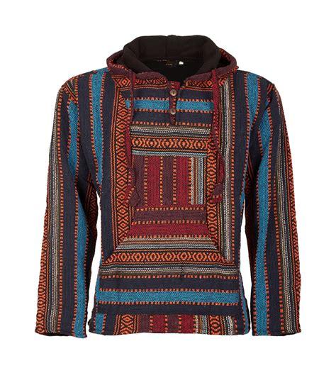 Maroko Ponco kunst und magie nepal baja jerga sweatshirt poncho ebay