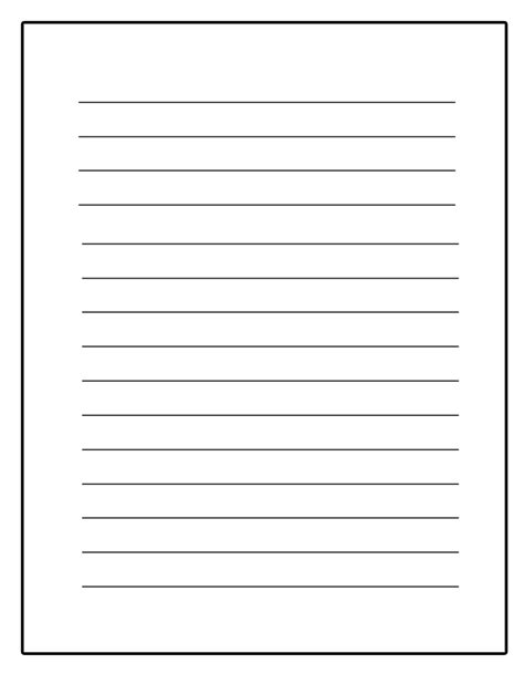 writing template printable writing paper template e commercewordpress