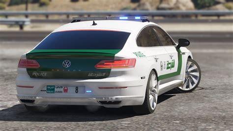 volkswagen dubai add on oiv 2018 volkswagen arteon dubai police gta5