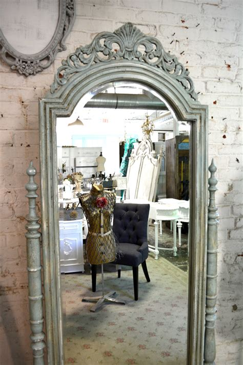 Painted Cottage by Painted Cottage Chic Shabby White Mirror Mr07