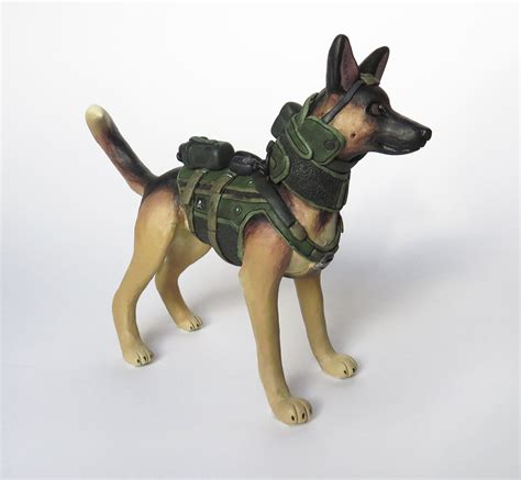 call puppy call of duty ghosts figurine such sculpture technabob