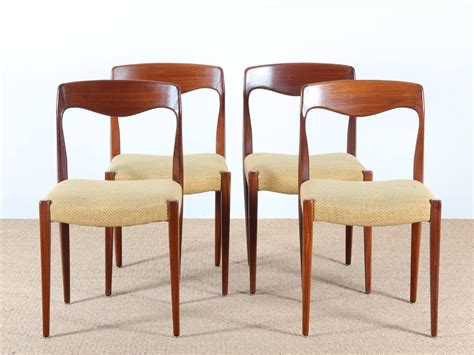 scandinavian teak dining chairs set of 4 for sale at pamono