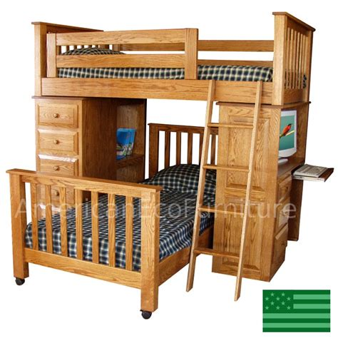 wooden loft beds uye home wood loft beds