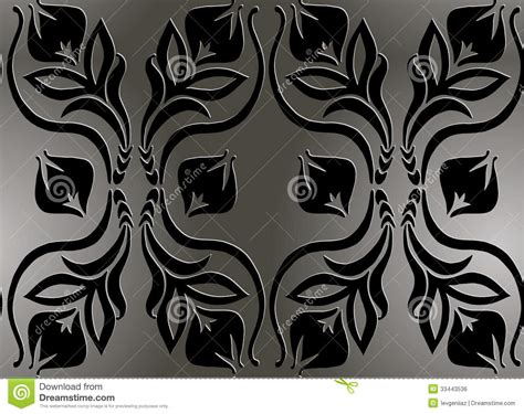 black and white retro pattern black and white retro pattern royalty free stock image