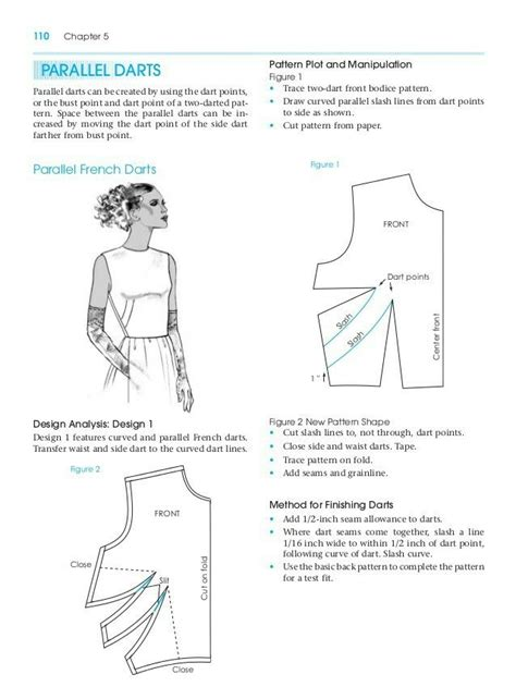 pattern drafting learn parallel dart pattern making for fashion design learn to