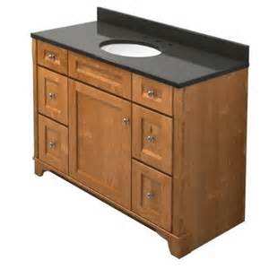 Kraftmaid Vanity Tops Kraftmaid 48 In Vanity In Praline With Quartz
